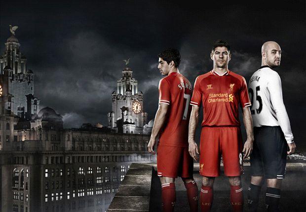 Liverpool Rilis Jersey Home 2013/14