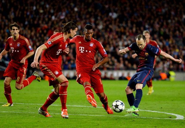 Iniesta: Bayern defeat will help Barcelona improve