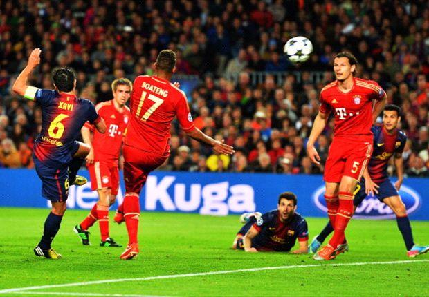 Bayern Munich were better than Barcelona, concedes Xavi
