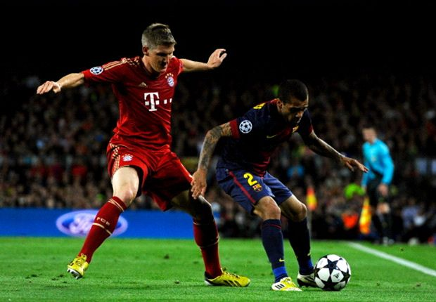 Bayern not better than Barcelona, says belligerent Dani Alves