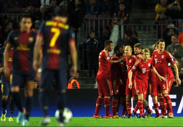 Barcelona have a lot to learn from unbelievable Bayern