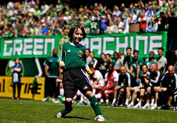 Portland Timbers hold exhibition match for Make-A-Wish child