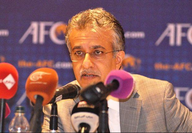 Shaikh Salman pledges to improve Asian football standards