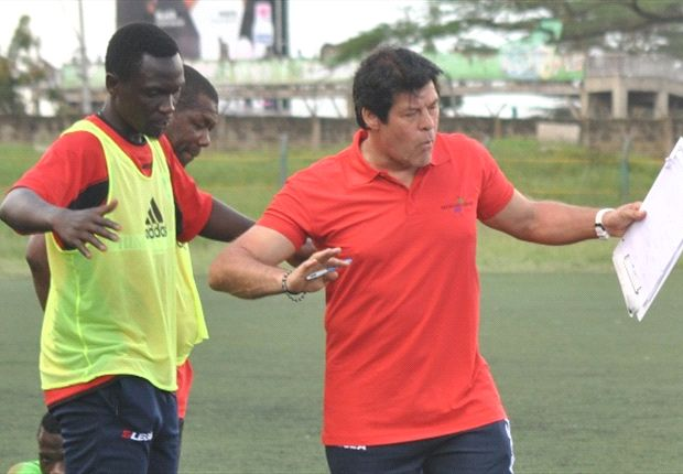 Muyoti with Luc Eymael