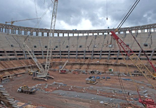 Los estadios de Brasil 2014: Nacional