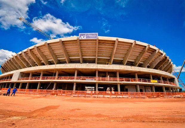 Los estadios de Brasil 2014: Arena Amazonia