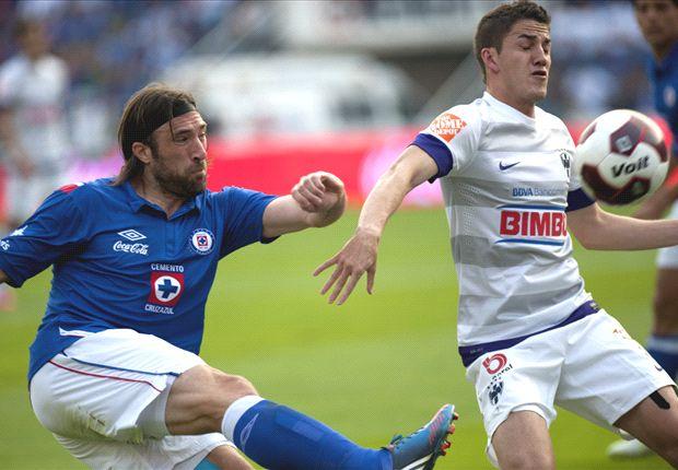 Cruz Azul y su racha positiva ante Monterrey