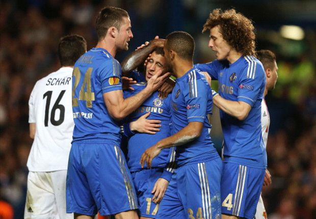 Chelsea es finalista de la Europa League
