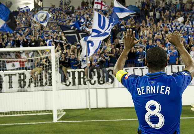Montreal Impact 1-1 Chivas USA: Bernier equalizes late