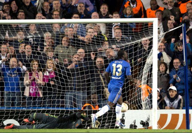 Moses: Chelsea focused on top-three finish
