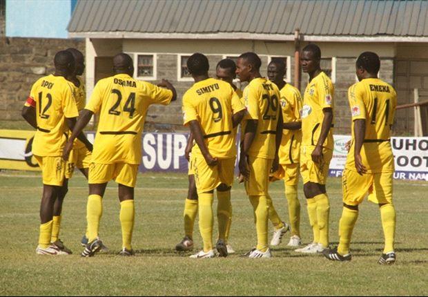 KRA 1-0 Muhoroni Youth: Tiego strike hands taxmen maximum points