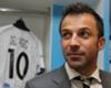 """Del Piero: """"Neymar da Pallone d'Oro"""""""