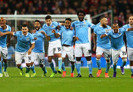 VIDEO: Man City's victory celebrations