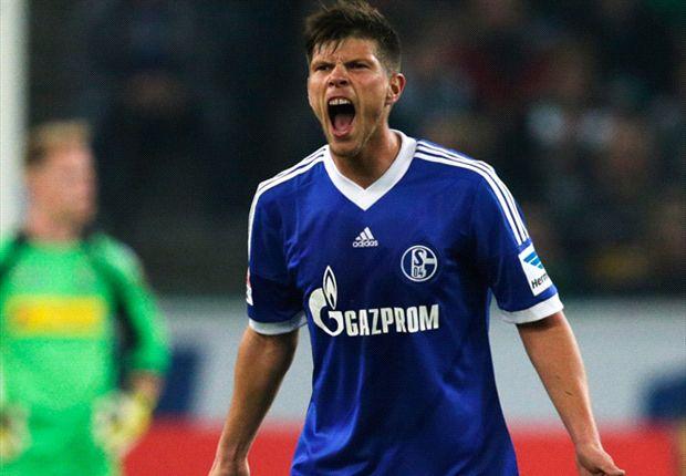 Schalke-Stürmer Klaas Jan Huntelaar: Müssen gegen Stuttgart gewinnen