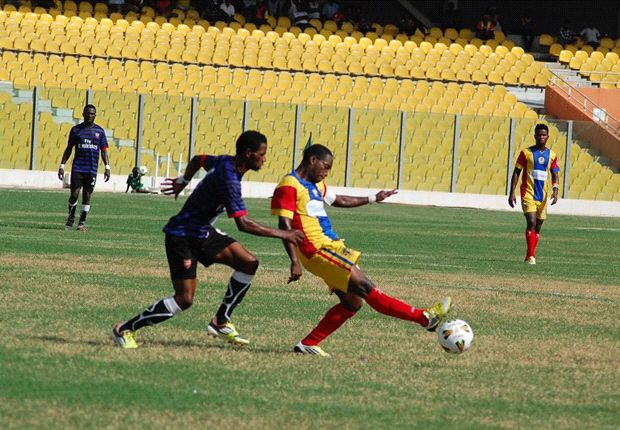 Otoo is the leading goal scorer in the Ghana league now