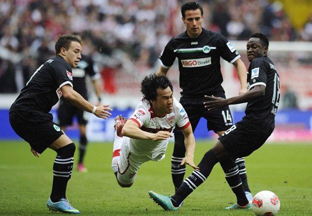 Schwacher VfB blamiert sich gegen Fürth