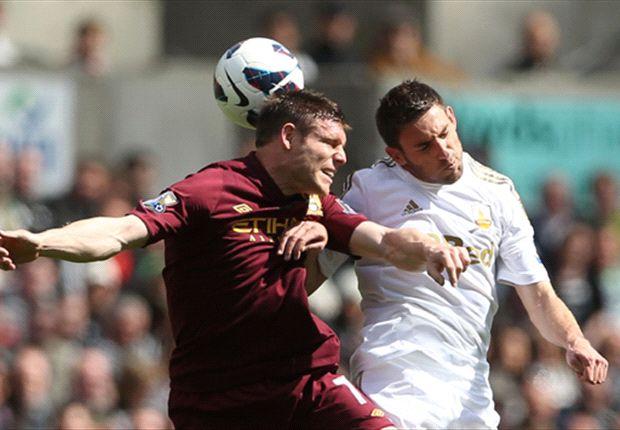 El Manchester City dominó pero no salió del empate