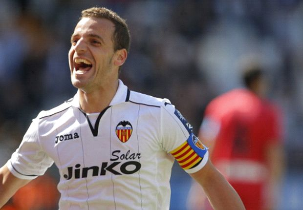 'Happy' Valencia striker Soldado open to Premier League switch