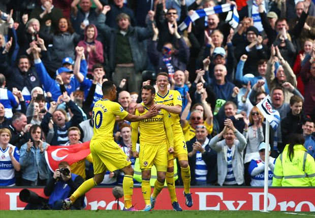 Fulham 2-4 Reading: Relegated Royals survive onslaught for conciliatory victory