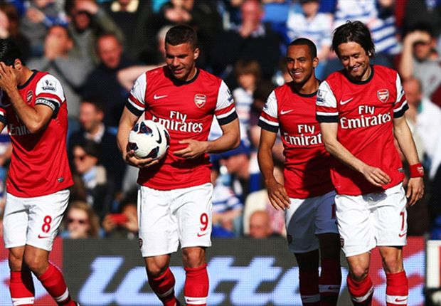 Wenger: Arsenal top-scorer Walcott calm now in front of ...