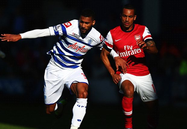 QPR 0-1 Arsenal: Early Walcott strike fires Wenger's men into third
