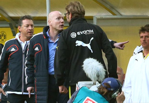 The war or words between Sammer and Klopp continued.