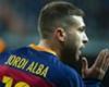 Jordi Alba se agranda con portero rival