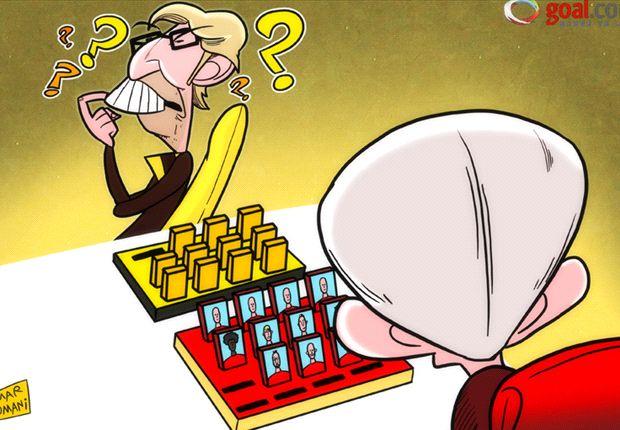 Cartoon - Heynckes et Klopp cachent leur jeu