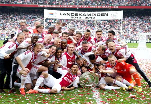 Ajax secure 32nd league title
