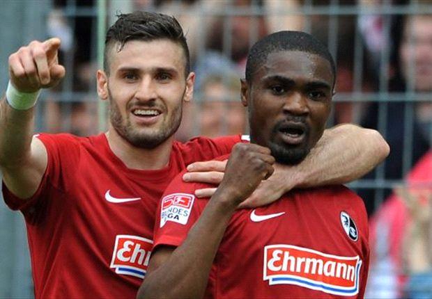 Augsburg kan niet stunten tegen Freiburg