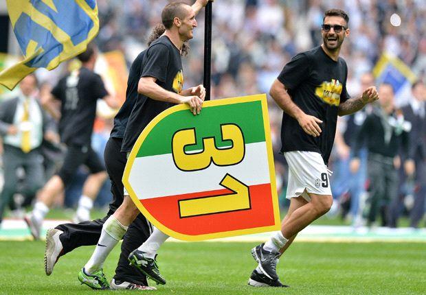 Juventus ganó el título sin discusión: le sacó 14 puntos de ventaja a Napoli, su perseguidor.