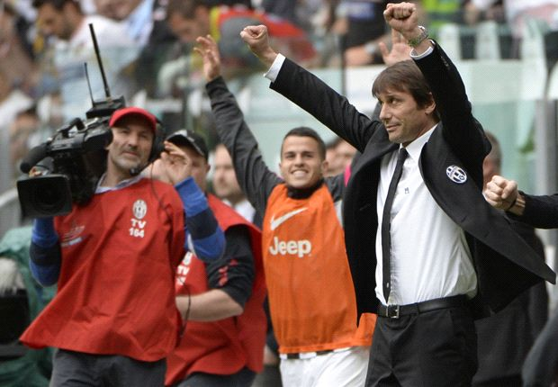 'I'm realising a dream by coaching Juventus' - Conte