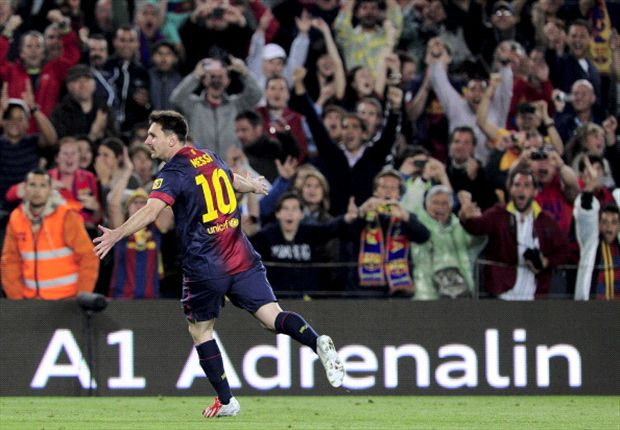 Barcelona 4-2 Real Real Betis: Magical Messi puts Blaugrana on brink of title