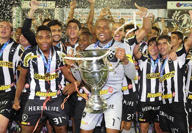 Botafogo e Inter, campeones en Brasil