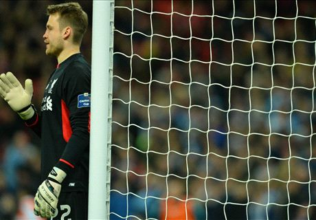 Klopp backs Mignolet after cup final goal