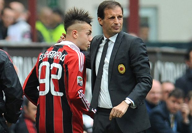 El Shaarawy hoping 'great' Allegri stays at Milan