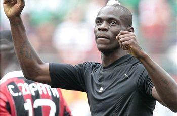 Balotelli faces fine for celebration