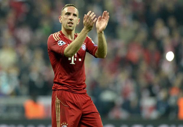 Ribery is set for a two-year extension at Bayern