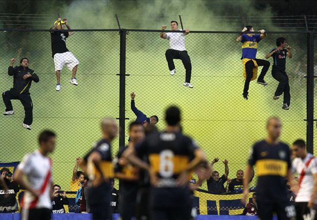 Superclasico in Argentinien: Viele Emotionen, wenig Fußball