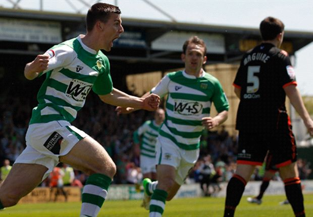 Yeovil 2-0 Sheffield United (Agg. 2-1): Dawson & Upson book Glovers' spot in League One play-off final