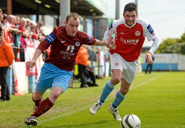 Drogheda United 1-2 St Patrick's Athletic - Last gasp penalty keeps Saints in title race