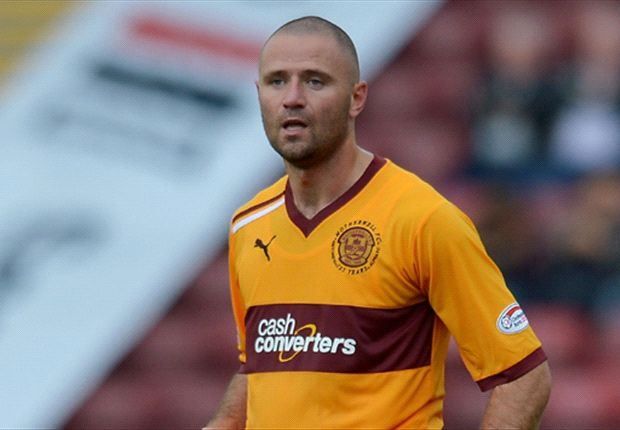Motherwell striker Higdon arrested hours after being named PFA Scotland Player of the Year