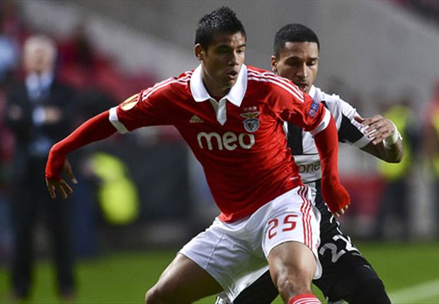 Arsenal are eyeing Lorenzo Melgarejo according to the player's agent