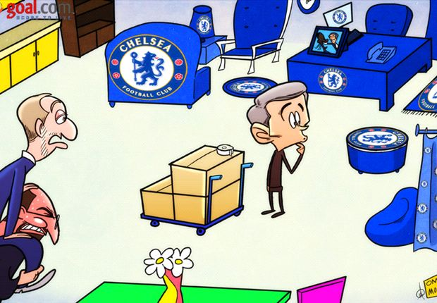 Cartoon - Mourinho prépare son retour à Chelsea