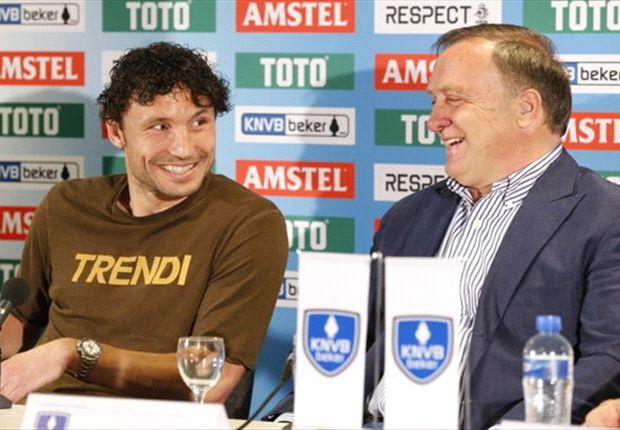 """Van Bommel: """"Omstandigheden niet te trainen"""""""