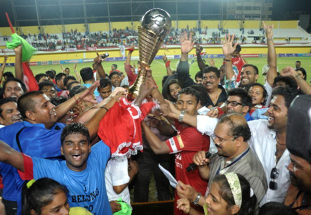 Churchill Brothers SC secure second I-League title