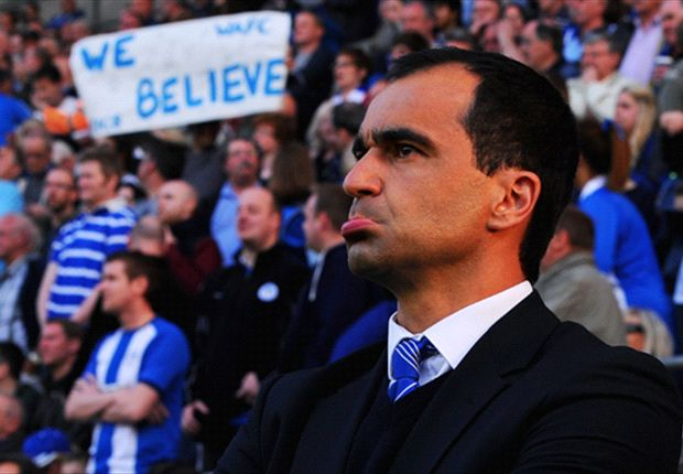Wigan remains my focus, insists Everton target Martinez