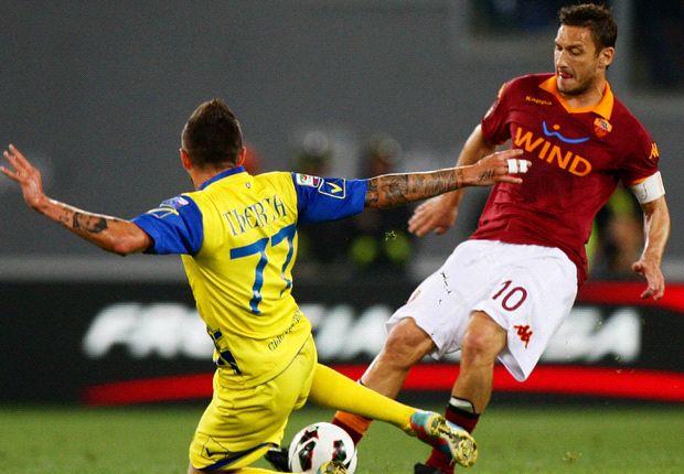 AS Rom verliert Last Minute gegen Chievo Verona