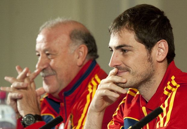 Del Bosque: Casillas has my full support