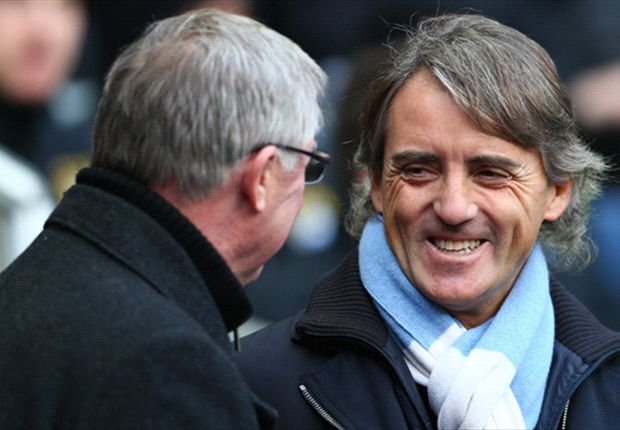Mancini honoured to have faced Fergie